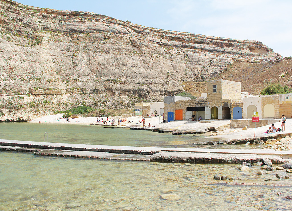 postcards from malta - swimming in dwejra