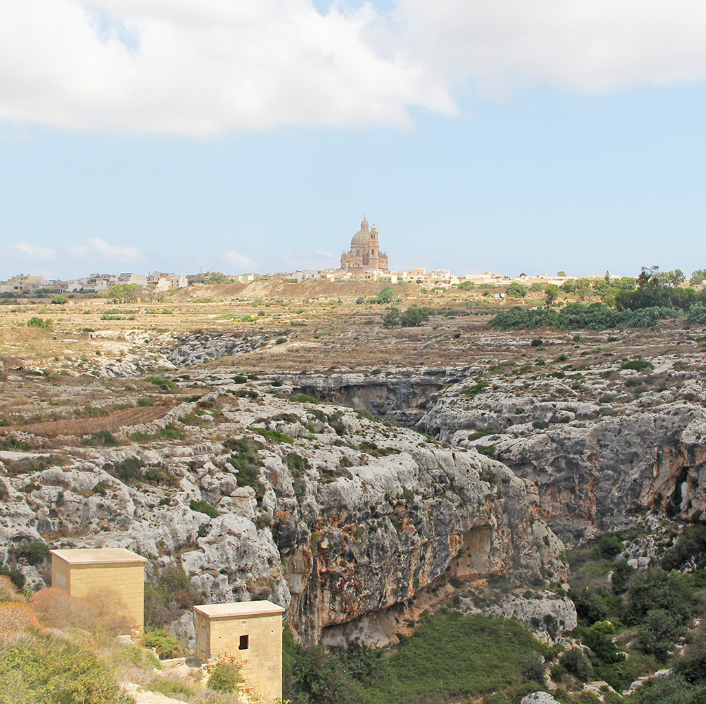 postcards from malta - cathedrals of gozo