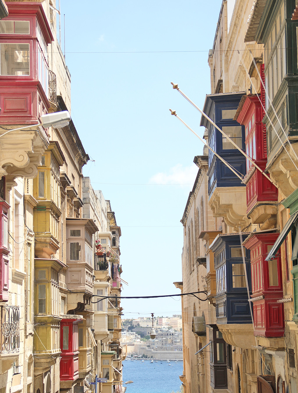 one week in gozo - postcards from malta - valletta streets